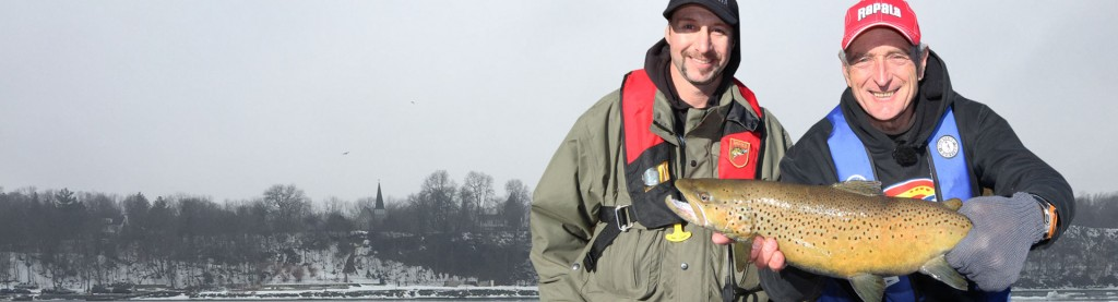 River Migratory Brown Trout Fishing!