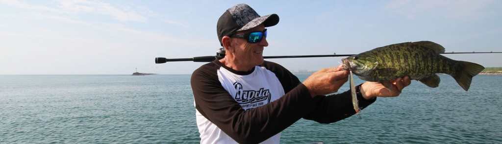 Lake Erie, NY Smallmouth Bass Action is Heating-up!