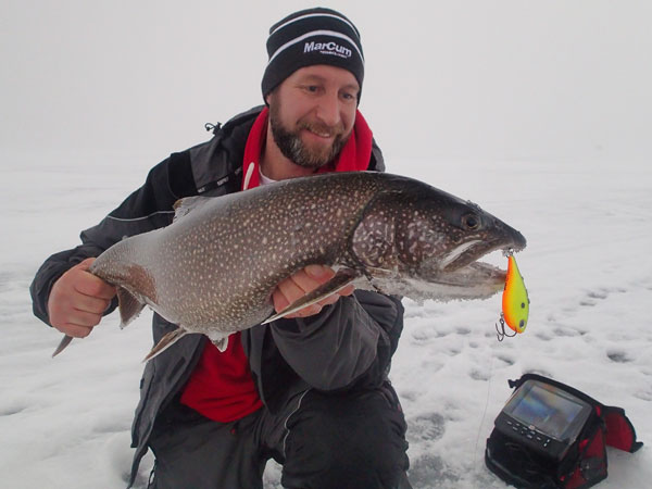 The Rippin' Rap is my favourite trigger lure for lake trout!