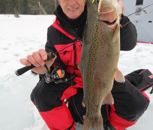 Rainbow trout wikwemikong on canadian sportfishing for Fishing access near me