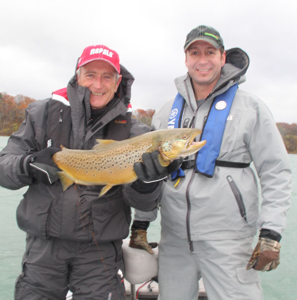 Niagara river trout steelhead youtube canadian for Fishing youtube channels