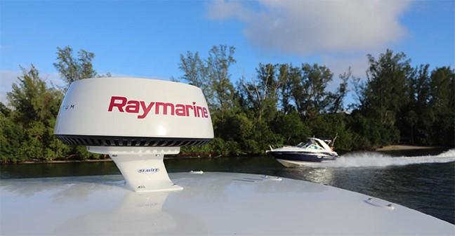 Raymarine new logo radar