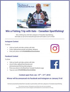 Toronto Boat Show 2018 - Photo Contest Flyer