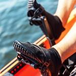 Leguano footwear ideal for kayaking.